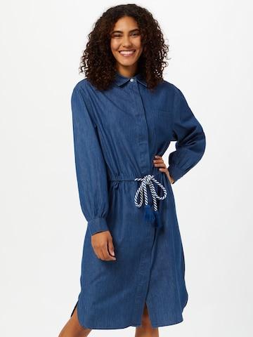 LOOKS by Wolfgang Joop Shirt Dress in Blue