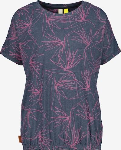 Alife and Kickin T-shirt 'Sun' en bleu / rose, Vue avec produit