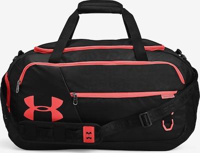 UNDER ARMOUR Sporttas 'Undeniable' in de kleur Koraal / Zwart, Productweergave