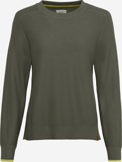 CAMEL ACTIVE Pullover in grün / khaki / neongrün, Produktansicht