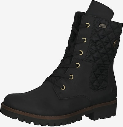 RIEKER Lace-Up Ankle Boots in Black, Item view
