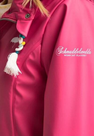 Schmuddelwedda Regenjacke in pink, Produktansicht