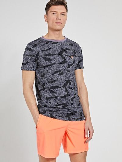 Shiwi Тениска в сиво / черно: Изглед отпред