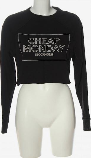 CHEAP MONDAY Sweatshirt in S in schwarz, Produktansicht