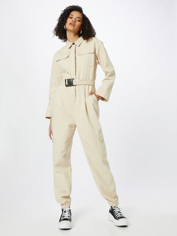 ABOUT YOU x INNA Jumpsuit 'Lana' in Beige