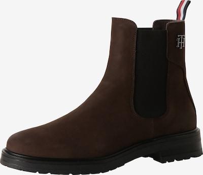 TOMMY HILFIGER Botas Chelsea en marrón oscuro, Vista del producto