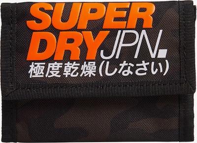 Superdry Geldbörse in khaki / orange / weiß, Produktansicht