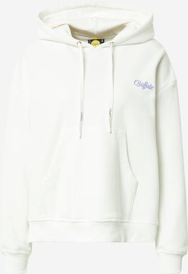 Buffalo Apparel Sweat-shirt 'ASTRID' en violet foncé / blanc, Vue avec produit