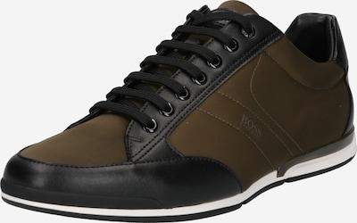 BOSS Casual Šnurovacie topánky 'Saturn' - zelená / čierna, Produkt
