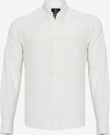 Jimmy Sanders Hemd 'Emilio' in Weiß