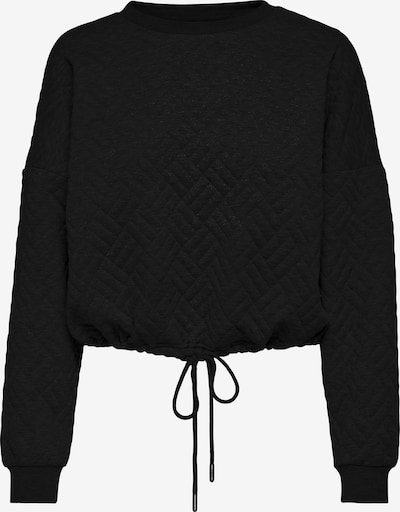ONLY Sweatshirt 'Square' in Black, Item view