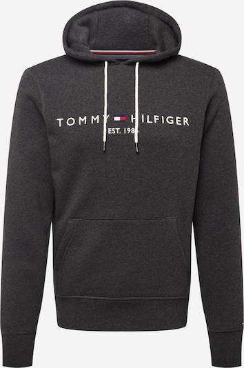 TOMMY HILFIGER Sweatshirt in navy / dunkelgrau / rot / weiß, Produktansicht