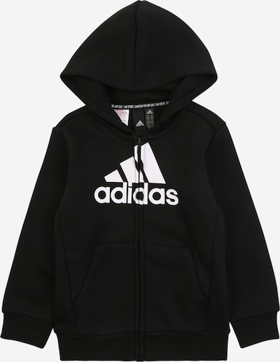 ADIDAS PERFORMANCE Sportowa bluza rozpinana w kolorze czarny / białym, Podgląd produktu