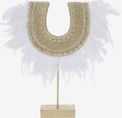 BOLTZE Deko-Objekt 'Andrina' in gold / weiß, Produktansicht