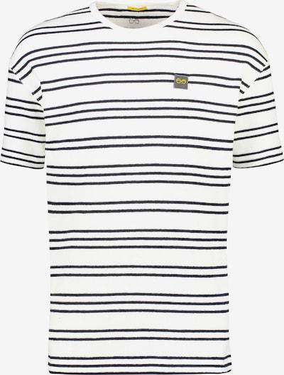 NEW IN TOWN T-Shirt gestreift in schwarz / weiß: Frontalansicht