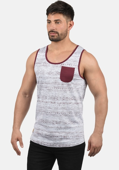 !Solid Tanktop 'Imbre' in rot: Frontalansicht