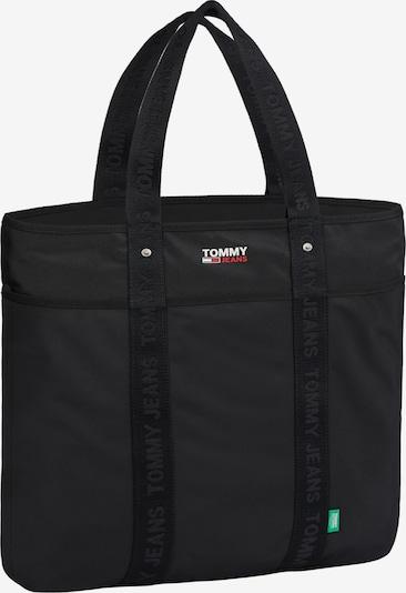 Tommy Jeans Cabas en rouge / noir / blanc, Vue avec produit