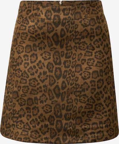 VILA Rok 'Faddy' in de kleur Bruin / Zwart, Productweergave