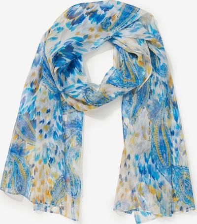 Laura Biagiotti Roma Schal in blau / gelb / weiß, Produktansicht