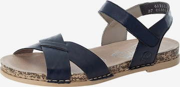 Sandales à lanières RIEKER en bleu