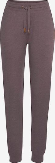 BENCH Loungepants in de kleur Mauve, Productweergave