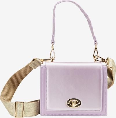 myMo at night Handtasche in gold / helllila, Produktansicht