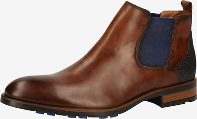 LLOYD Chelsea boots 'Jaser' in de kleur Marine / Navy / Cognac, Productweergave