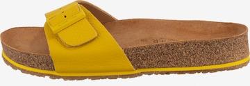 HAFLINGER Pantolette in Gelb