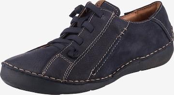 JOSEF SEIBEL Lace-Up Shoes 'Fergey' in Blue