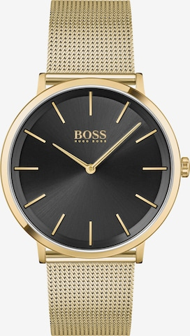 BOSS Casual Analoguhr in Gold