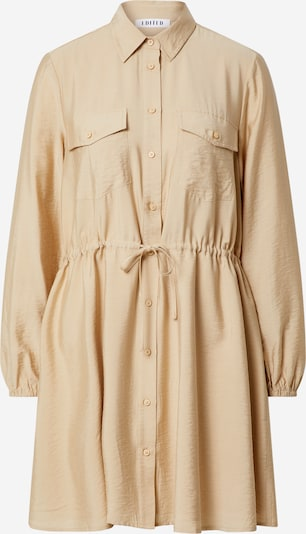 EDITED Shirt dress 'Faye' in Beige, Item view