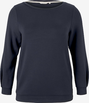MY TRUE ME Sweatshirt in Blue