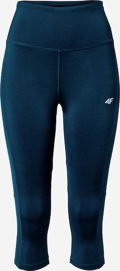 4F Športové nohavice - tmavomodrá / biela, Produkt