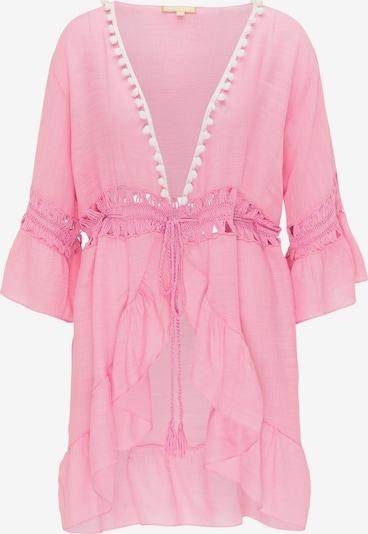 MYMO Kimono in hellpink / weiß, Produktansicht