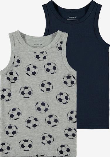 NAME IT Onderhemd in de kleur Donkerblauw / Grijs gemêleerd, Productweergave
