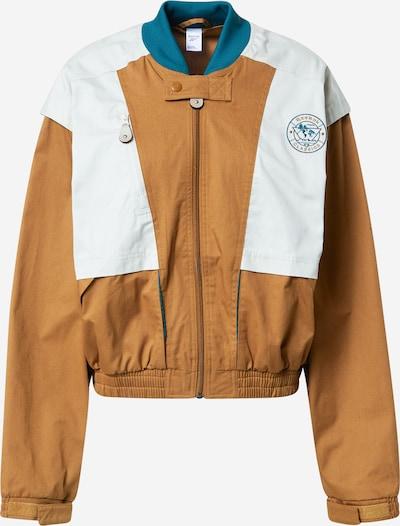 Reebok Classics Between-season jacket in Sand / Petrol / White, Item view