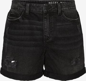 Noisy may Shorts 'NMSMILEY' in Schwarz