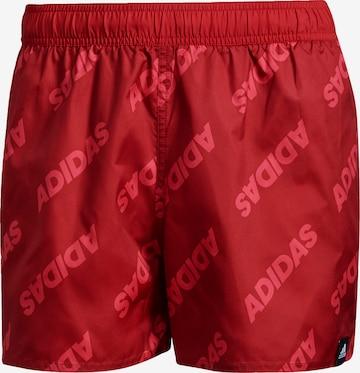 ADIDAS ORIGINALS Board Shorts in Red