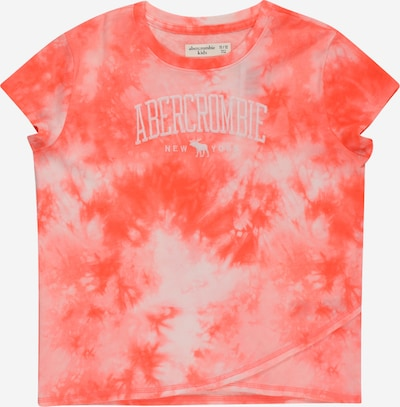 Abercrombie & Fitch T-Shirt 'MAY' en gris clair / corail, Vue avec produit