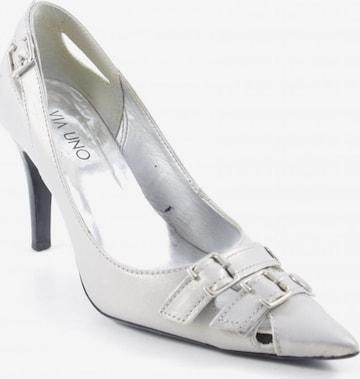 VIA UNO High Heels & Pumps in 37 in Silver