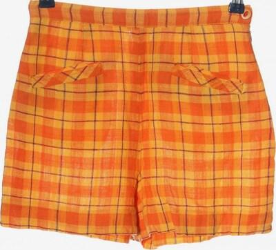tintoretto High-Waist-Shorts in S in pastellgelb / hellorange, Produktansicht