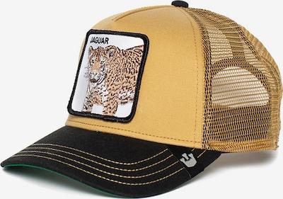 Cappello da baseball 'Jaguar' GOORIN Bros. di colore beige / nero / bianco, Visualizzazione prodotti