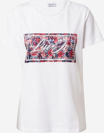 LIU JO JEANS Shirt in de kleur Gemengde kleuren / Wit, Productweergave