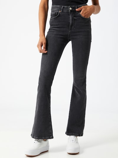 Džinsai 'Meja' iš Gina Tricot , spalva - juoda, Modelio vaizdas