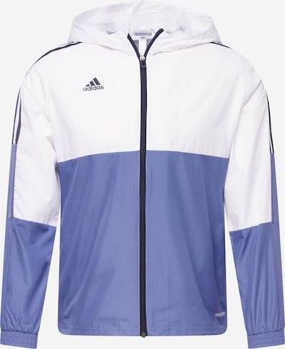 Giacca sportiva 'TIRO' ADIDAS PERFORMANCE di colore blu fumo / nero / bianco naturale, Visualizzazione prodotti
