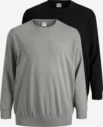 JACK & JONES Sweatshirt in Grey / Black, Item view