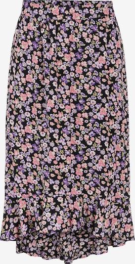 PIECES Skirt 'Ellia' in Dark purple / Rose / Light pink / Black, Item view