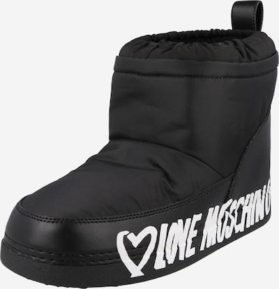 Love Moschino Μπότες για χιόνι σε μαύρο / λευκό, Άποψη προϊόντος