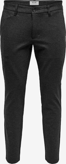 Pantaloni chino 'MARK' Only & Sons di colore grigio scuro, Visualizzazione prodotti