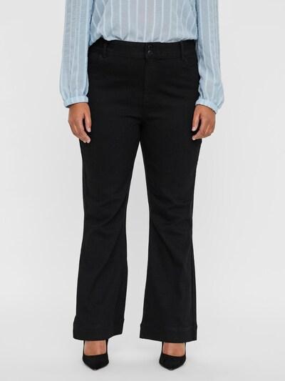 Vero Moda Curve Džíny 'Shiny' - černá džínovina, Model/ka